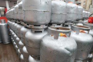 botijão de gás de cozinha